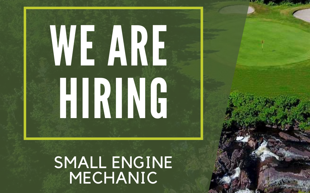 Now Hiring – Small Engine Mechanic