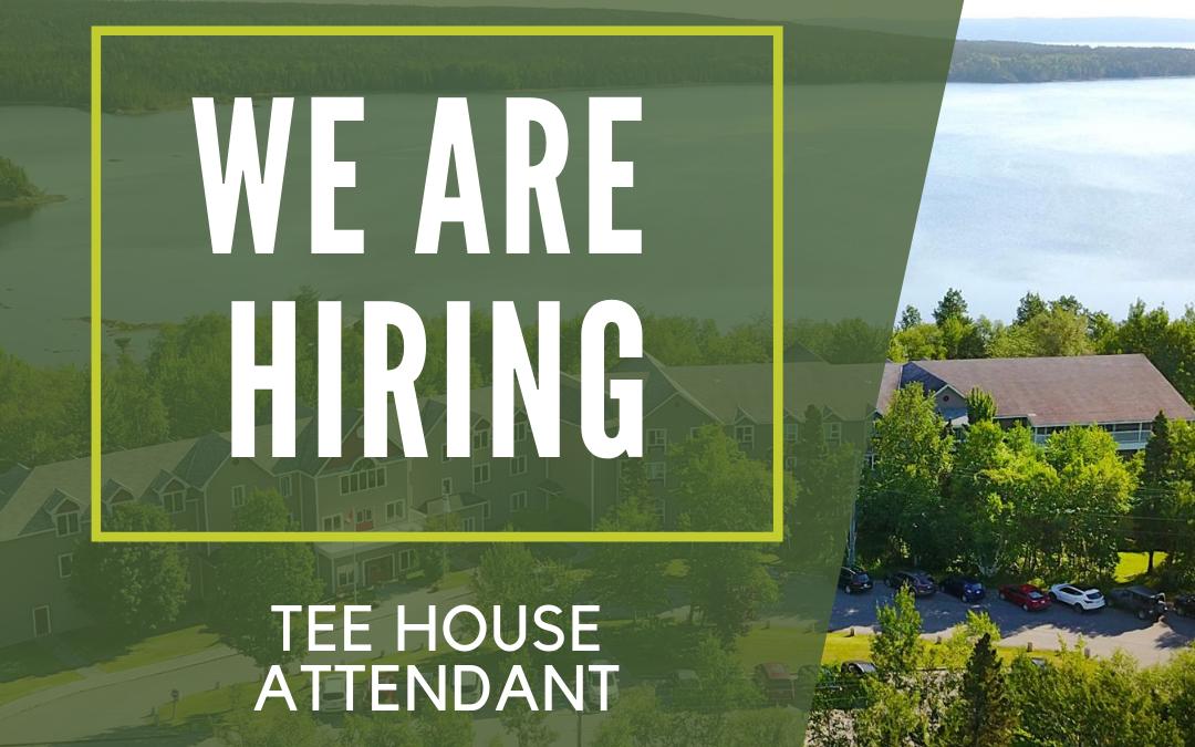 Tee House Attendant