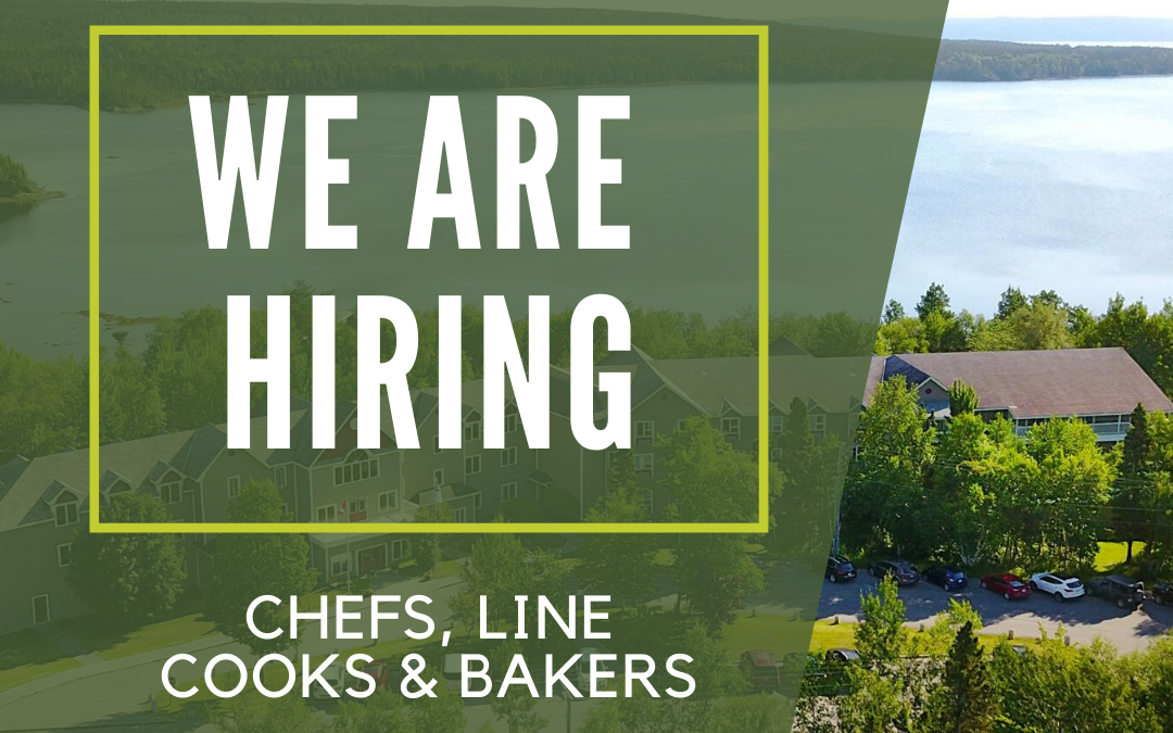 Now Hiring – Chefs, Line Cooks, and Bakers